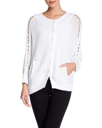 INHABIT - Cotton Knit Luxe Cocoon Sweater - Lyst