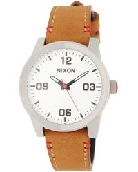 Nixon - Women's Gi Analog Quartz Watch, 36mm - Lyst
