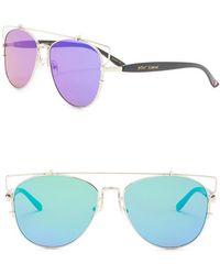 d98f173c97468 Women s Betsey Johnson Sunglasses Online Sale - Lyst