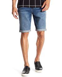 Joe's Jeans - Denim Cuffed Shorts - Lyst