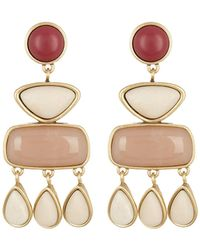 Lucky Brand - Stone Statement Dangle Earrings - Lyst