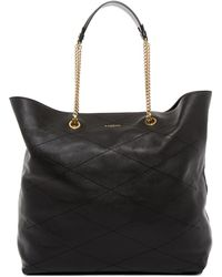 Lanvin - Quilted Leather Carry Me Tote - Lyst