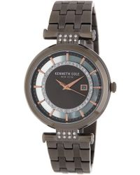 Kenneth Cole - Women's 3-hand Crystal Accented Bracelet Watch, 32mm - Lyst