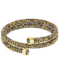 Swarovski - Crystal Dust Crystal Wrap Around Bracelet - Lyst