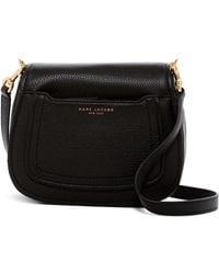 6d142c852 Marc Jacobs - Empire City Mini Messenger Leather Crossbody Bag - Lyst