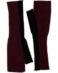 Skull Cashmere - Nadine Wool & Cashmere Blend Arm Warmers - Lyst