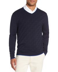 Ted Baker - Armstro Tipped Golf Tee Sweater - Lyst