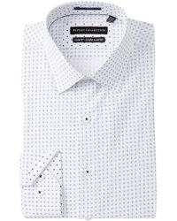 Report Collection - Geo Print Slim Fit Dress Shirt - Lyst