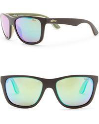Revo - Otis Polarized 58mm Square Sunglasses - Lyst