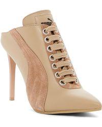 85ca1d1eb85c2e PUMA - Lace Up Mule Heel (women) - Lyst