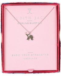 Judith Jack - Charmed Life Boxed Elephant Pendant Necklace - Lyst