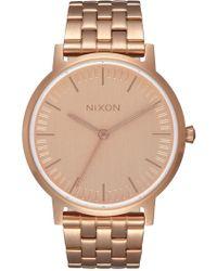 Nixon - Women's Porter 35 Miyota Quartz Bracelet Watch, 35mm - Lyst