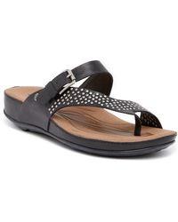 Romika - Fidschi 34 Wedge Thong Sandal - Lyst