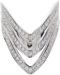 Saachi - Triple Arrow Cz Ring - Lyst