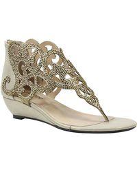 J. Reneé - Minka Wedge Embellished Sandal - Multiple Widths Available - Lyst