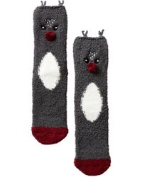 Pj Salvage   Holiday Themed Socks   Lyst