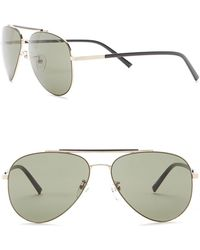 Kenneth Cole Reaction - 58mm Aviator Sunglasses - Lyst