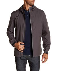 Cole Haan - Seam Sealed Packable Water Resistant Jacket - Lyst