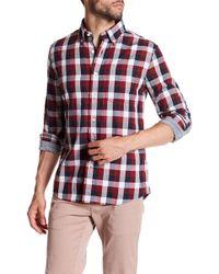 Jack Spade - Sheppard Trapunto Chequered Shirt - Lyst