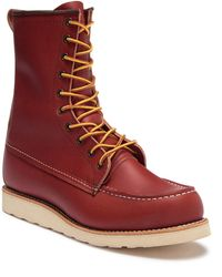 """Red Wing - 8"""" Moc Toe Leather Chukka Boot - Factory Second - Lyst"""