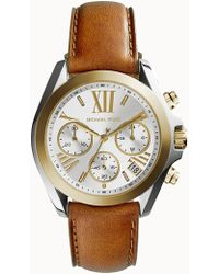 MICHAEL Michael Kors - Women's Two-tone Bradshaw Mini Watch, 36mm - Lyst