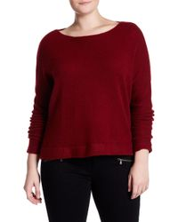 d70ef2fd1ac NAKEDCASHMERE - Katya Boatneck Cropped Cashmere Sweater (plus Size) - Lyst