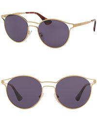 Prada - Phantos Catwalk 53mm Sunglasses - Lyst