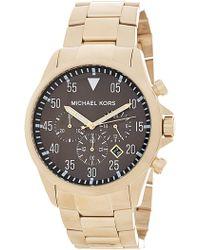 MICHAEL Michael Kors - Men's Gage Chronograph Bracelet Watch, 45mm - Lyst