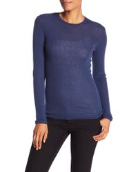Vince - Cashmere Long Sleeve Top - Lyst