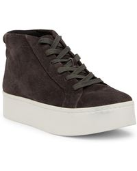 Kenneth Cole - Janette High Top Platform Sneaker - Lyst