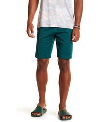 RVCA - The Weekend Stretch Shorts - Lyst