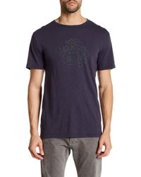 United By Blue - Front Graphic Print Tee - Lyst