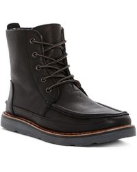 TOMS - 'searcher' Leather Boot (men) - Lyst