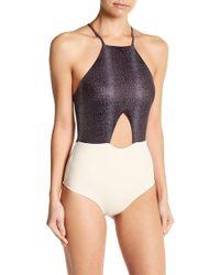 Tavik - Lela Colorblock One-piece Swimsuit - Lyst
