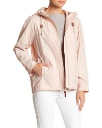 Cole Haan - Sporty Hooded Jacket - Lyst