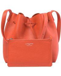 1f8a10d37cd9 Lancaster Paris - Pur Taurillon Leather Shoulder Bag - Lyst