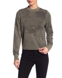Alternative Apparel - Mock Neck Knit Sweatshirt - Lyst