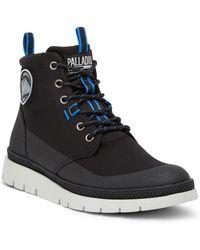 Palladium - Pallasider Waterproof Coated Mid Boot - Lyst