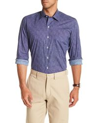 David Donahue - Patterned Casual Fit Shirt - Lyst