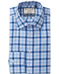 Thomas Pink - Hercules Check Classic Fit Dress Shirt - Lyst