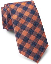 Tommy Hilfiger - Denim Gingham Tie - Lyst