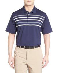 Lone Cypress Pebble Beach Stripe Moisture Wicking Golf Polo Lyst