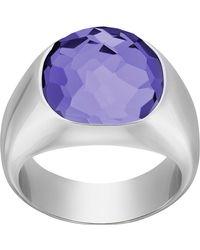 Swarovski - Dot Ring - Size 55 (us 7) - Lyst