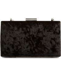 Glint - Crushed Velvet Minaudiere - Lyst
