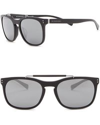 Burberry - 56mm Square Sunglasses - Lyst