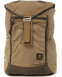 054807a2ba6 Timberland Rolltop 24l Backpack With Leather Trim for Men - Lyst
