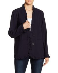 English Factory - Ruffled Jacket - Lyst