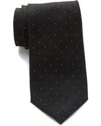 Calvin Klein - Botanic Dot Silk Tie - Lyst