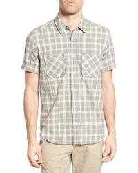 Billy Reid - Clarence Check Sport Shirt - Lyst