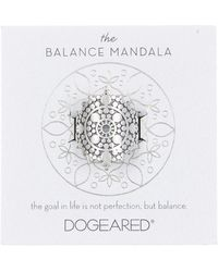 Dogeared - The Balance Mandala Ring - Size 5 - Lyst